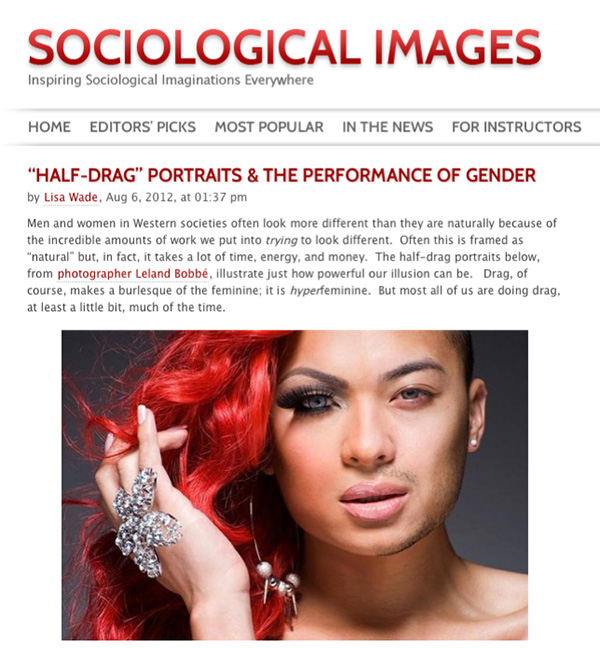 Half Drag - Sociological Images