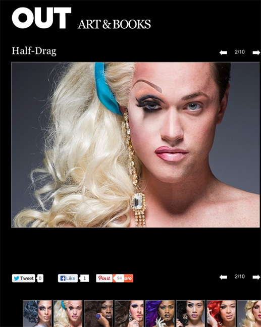 Half Drag - OUT Magazine