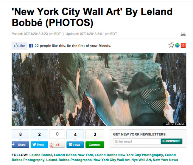 NYC Wall Art - Huffington Post